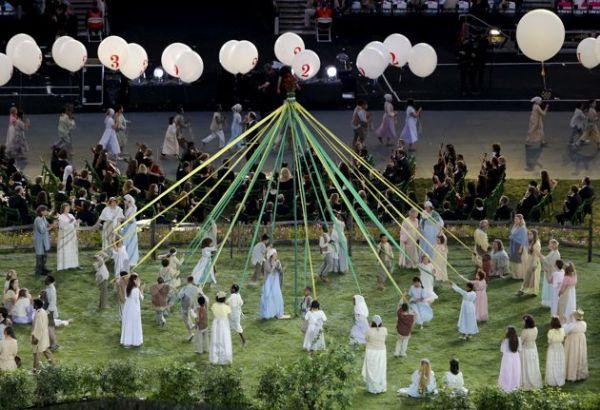 2012 Londra Olimpiyat Oyunları başladı 20