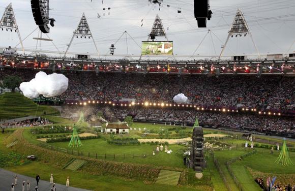 2012 Londra Olimpiyat Oyunları başladı 3