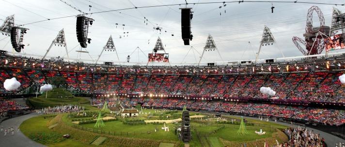 2012 Londra Olimpiyat Oyunları başladı 6