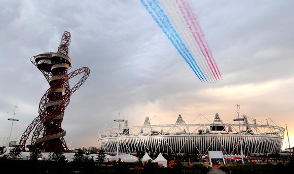 2012 Londra Olimpiyat Oyunları başladı 9