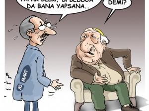 Seçim sonrası güldüren karikatürler