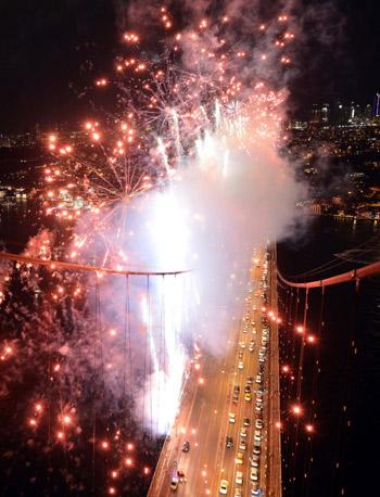 İstanbul Boğazı'nda muhteşem gösteri! 5