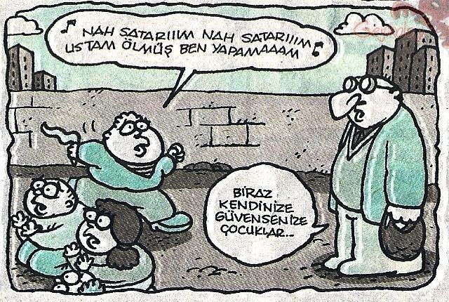 En komik öğretmen karikatürleri 2