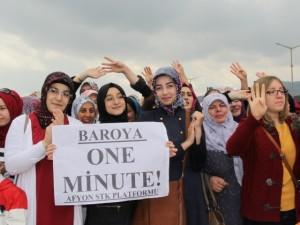 Başbakan Erdoğan'a Afyon'da büyük destek
