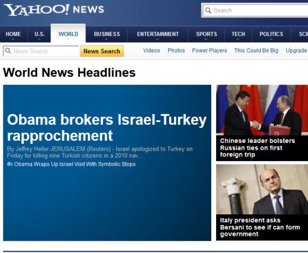 Dünya ajansları haberi böyle geçti 3