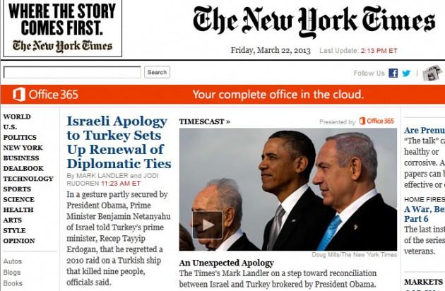 Dünya ajansları haberi böyle geçti 6