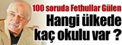 Fethullah Gülenin Hangi Ülkede Kaç Okulu Var