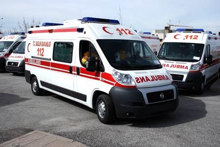 Ambulans şoförleri sahte diplomalı çıktı