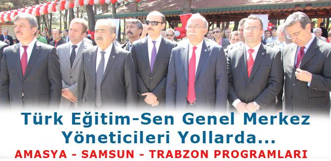 Türk Eğitim-Sen Genel Merkez Yöneticileri Yollarda...
