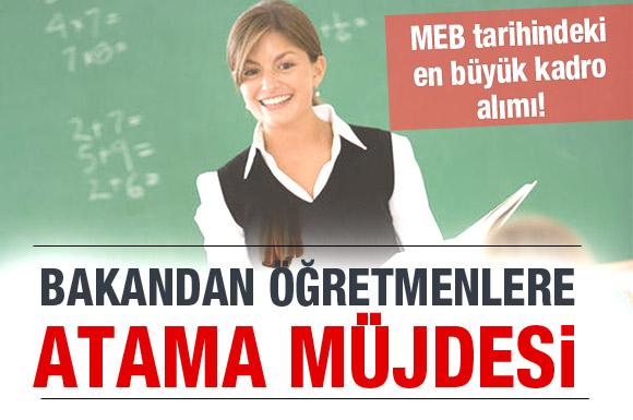 Ağustos'ta 40 bin öğretmen atanacak/ Video