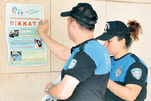 Polise çakma savcı uyarısı