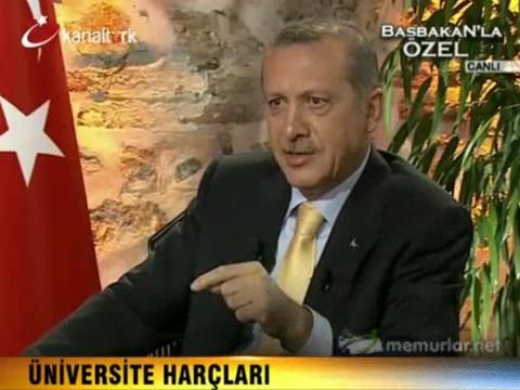 Erdoğan: İkinci öğretimde harç kalkmayacak