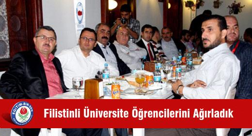 Filistinli Üniversite Öğrencilerini Ağırladık