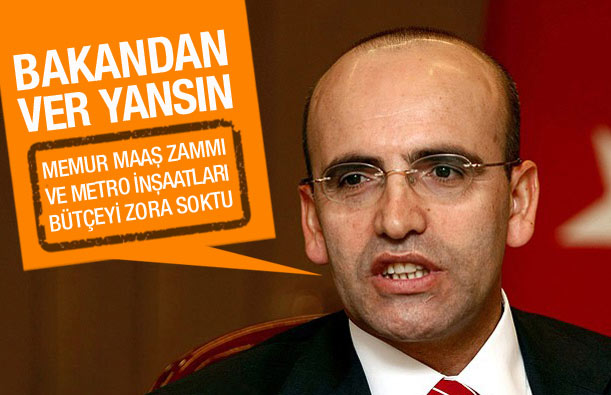 Bakan Şimşek: Memur maaş zammı bütçeyi zorladı!