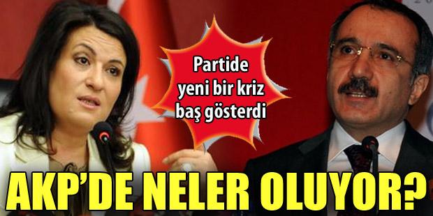 AKPde Baş-Dinçer gerilimi