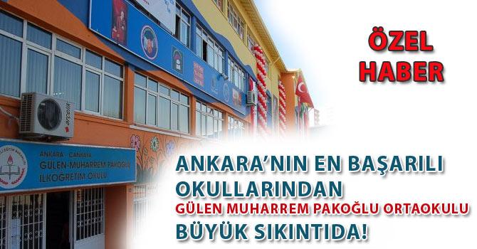 Gülen Muharrem Okulunda Büyük Sıkıntı!