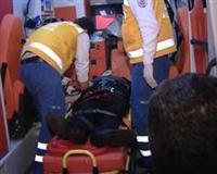 Kadın sürücü, öğrencilere çarptı