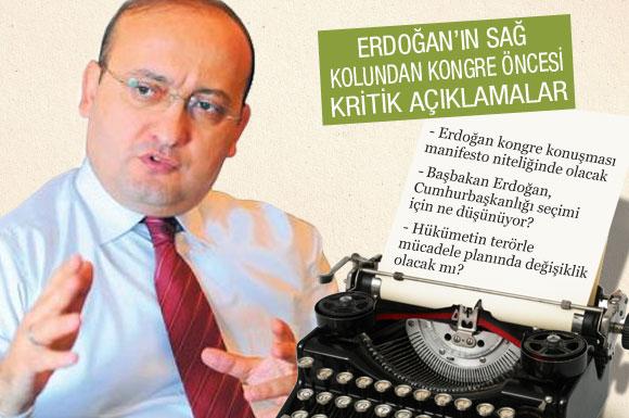 Erdoğanın sağ kolundan yeni AK Parti analizi