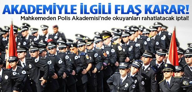 Polis Akademisi'nden ayrılmak artık cezasız!