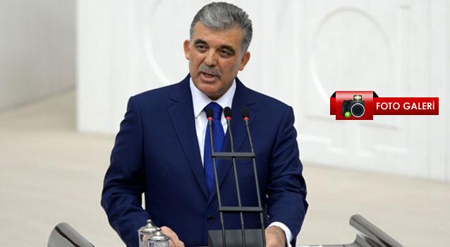 Cumhurbaşkanı Abdullah Gül TBMMde konuştu...