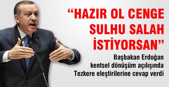 Erdoğandan Suriye Yorumu: Ne Barışı!