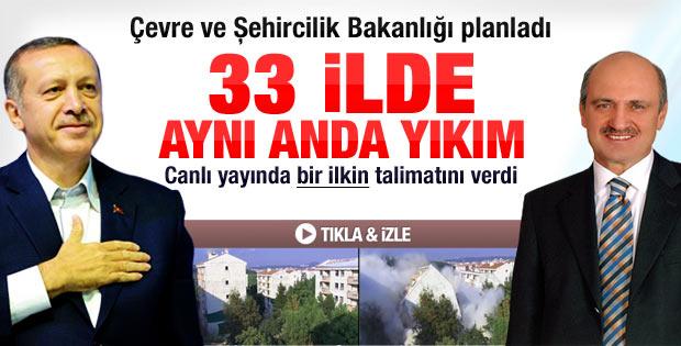 33 ili kapsayan dönüşüm projesine Erdoğan start verdi