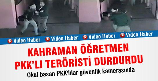 Kahraman Öğretmen PKKlıyı Durdurdu