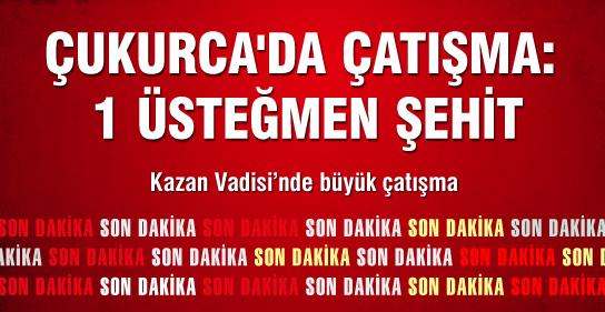 Çukurca'da Çatışma: 1 Üsteğmen Şehit