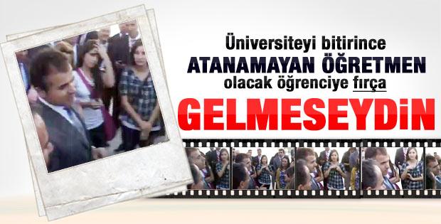 Suat Kılıçla üniversite öğrencisinin tartışması - Video