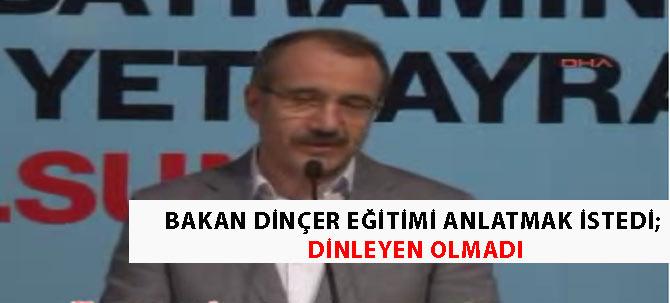 Bakan Dinçeri şoke eden olay/ Video