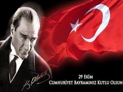 Cumhuriyetimizin 89. Yılı Kutlu Olsun!!!