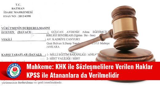 EBS den Çok Önemli Mahkeme Kararı