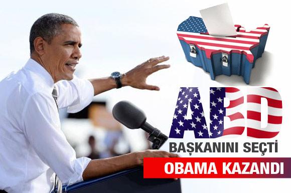 ABD Başkanı 2. kez Obama seçildi