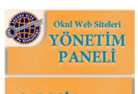 Okul Web Sitesi Yönetim Paneli başladı