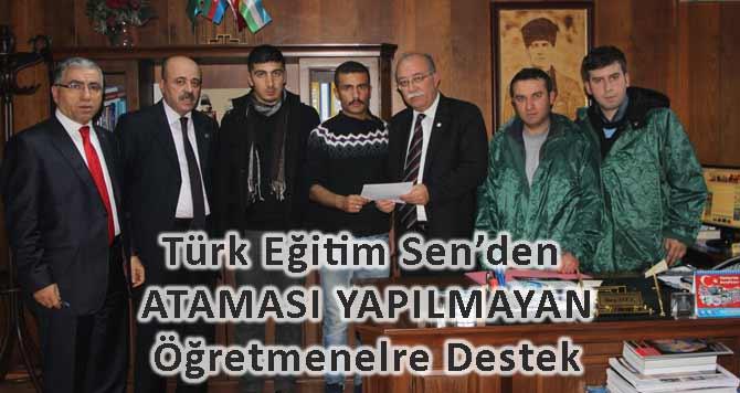 Türk Eğitim Sen'den Şubatta Atama Mektubu
