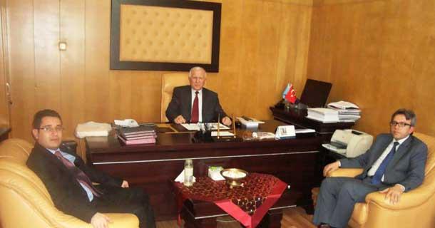 EYUDER, Gazi Eğitim Fakültesi Dekanı ziyaret etti
