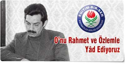 Mehmet Akif İnan Anıldı!