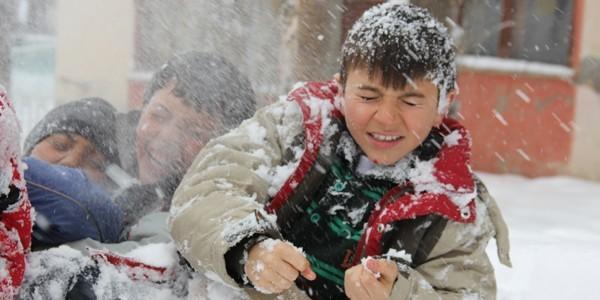Kar tatili olan iller 10 Aralık 2013