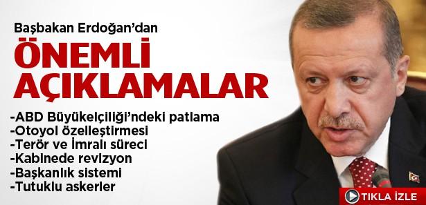 Erdoğan'dan gündeme ilişkin çarpıcı açıklamalar