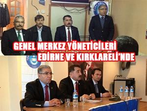 TES Yöneticileri Edirne Ve Kırklareli'nde