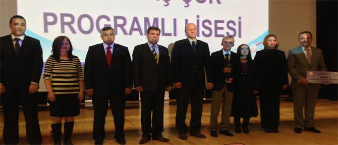 Eğitimde Kalite Ödülü Ayaş ÇPL'nin