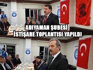 Türk Eğitim-Sen Yöneticileri Adıyaman'da