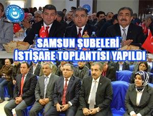 Türk Eğitim Sen Yöneticileri Samsun'da