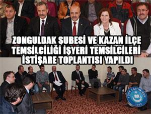 Türk Eğitim Sen Yöneticileri Zonguldak ve Kazan'da