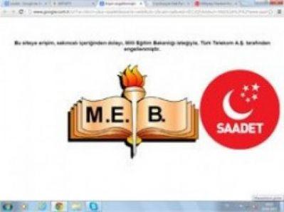MEB Saadet Partisi'ni Okullarda Yasakladı