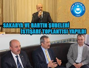Türk Eğitim-Sen Yöneticileri Sakarya ve Bartın'da