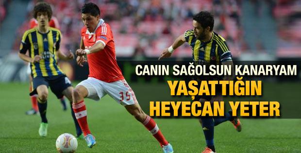 Fenerbahçe Benfica'ya elendi