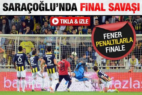 Fenerbahçe Eskişehirsporu penaltılarla geçti