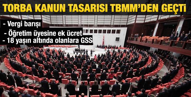 Torba Kanun Tasarısı TBMM'de kabul edildi