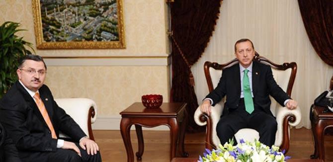 GÜNDOĞDU, Memur Sorunlarını Başbakanla Görüştü